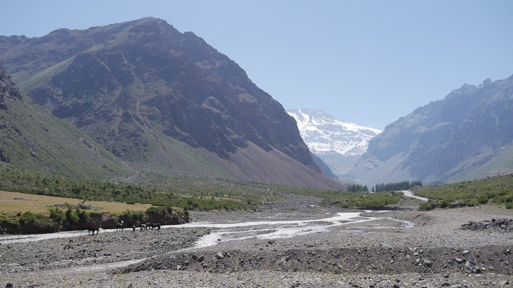 Cajon de Maipo - Journal de bord au Chili