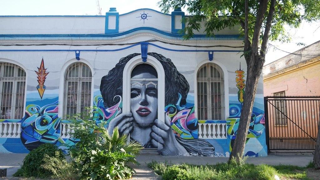 Murales Santiago, Bellavista