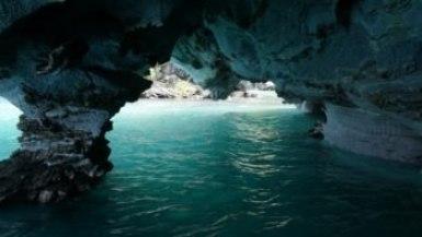 Caverne de marbre intérieur