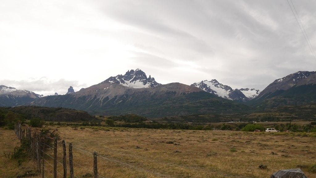 Cerro Castillo sur la Carretera Austral