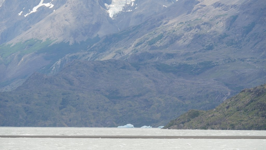 De la glace du glacier Grey
