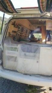 Système anti poussière van