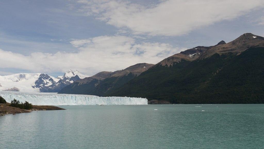 Vue du glacier Perito Moreno depuis la randonnée
