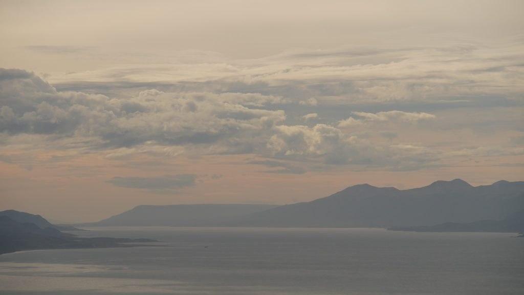Vue sur la laguna d'Ushuaïa