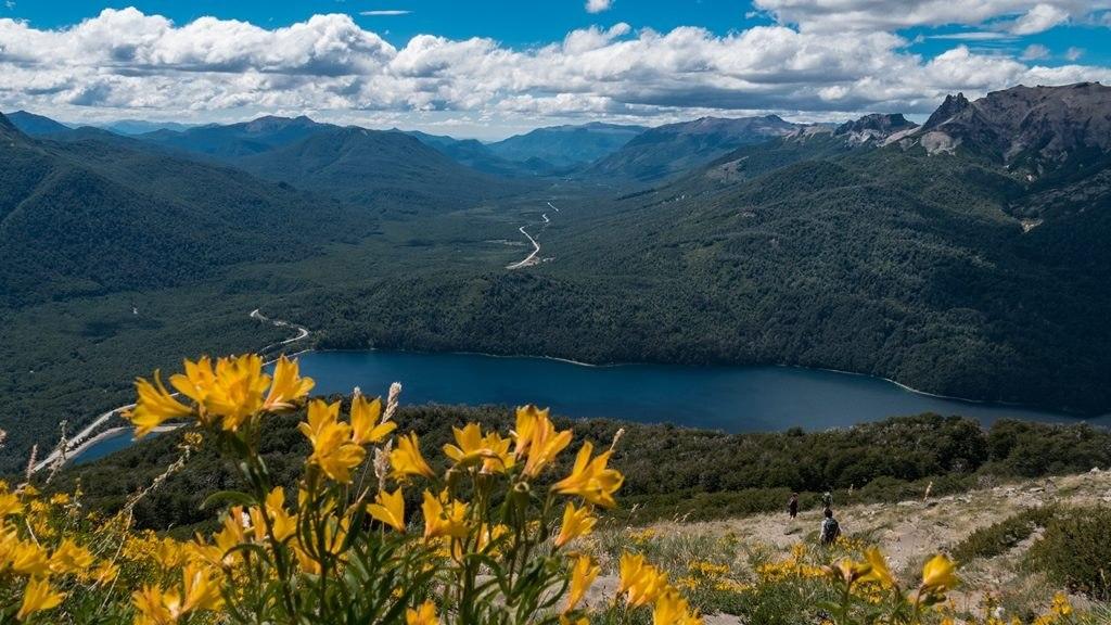 Vue du Cerro Falkner ruta siete lagos