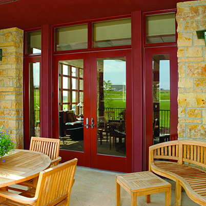 andersen e series hinged patio doors