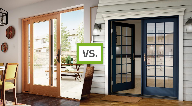 sliding vs french patio doors