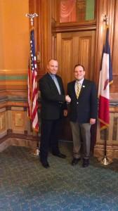 Tim Kraayenbrink and Iowa Secretary of State