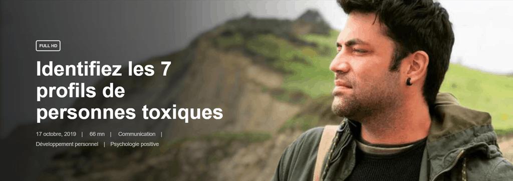 Formation - Identifiez les 7 profils de personnes toxiques - Omar Rueda