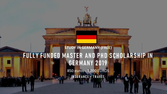 Fully funded DAAD Postgraduate Scholarships for Students from Developing Countries