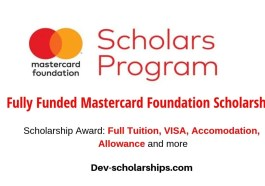 Fully Funded Mastercard Foundation Scholars Program (MCFSP) in South Africa, 2020