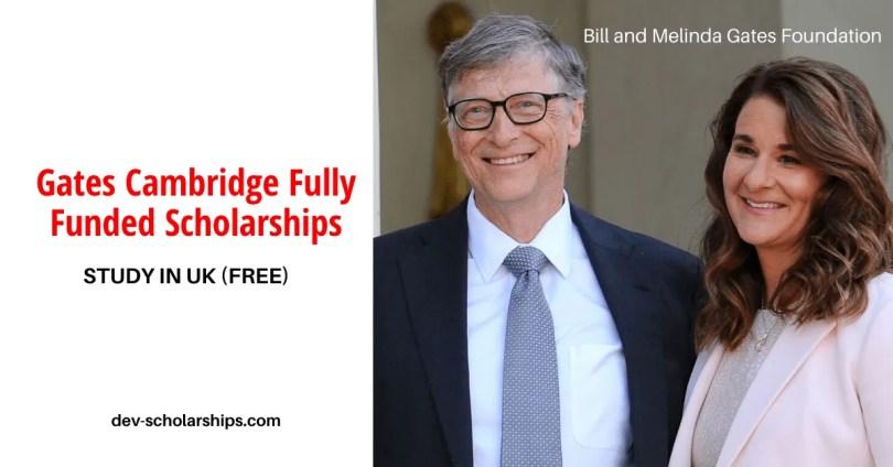 Gates Cambridge Scholarships For International Students (Fully Funded) 2020