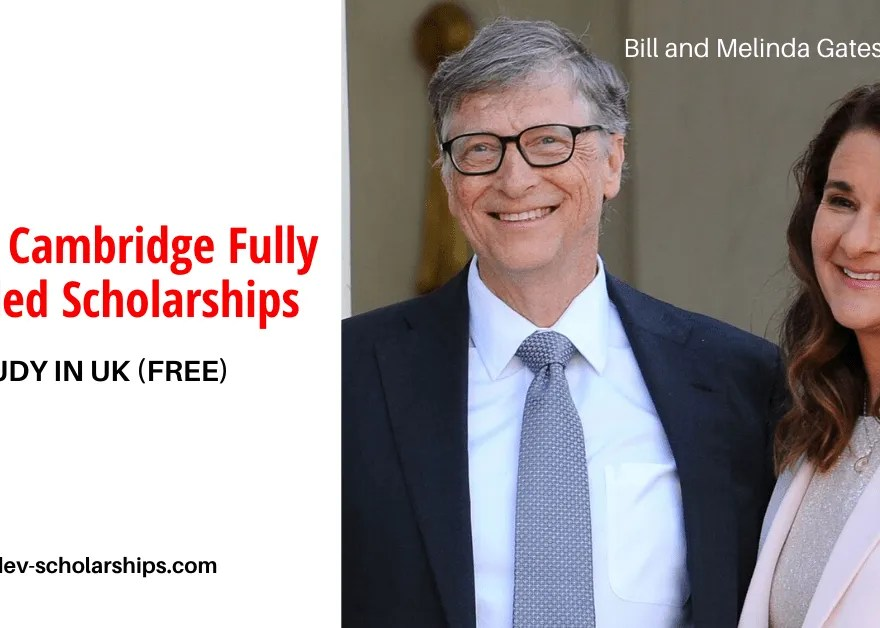 Gates Cambridge Scholarships For International Students (Fully Funded) 2020