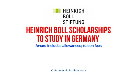 Heinrich Boll Scholarships to Study in Germany