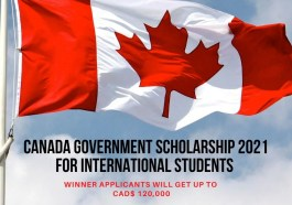 Canada Government Scholarship 2020-2021 for International Students in Canada.