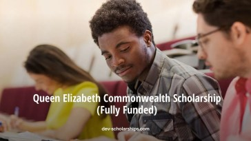 Queen Elizabeth Commonwealth Scholarship (Fully Funded) 2021