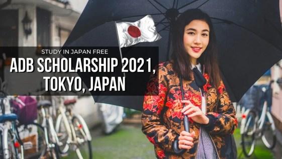 ADB Scholarship 2021 Tokyo, Japan for Keio University Graduate Programs