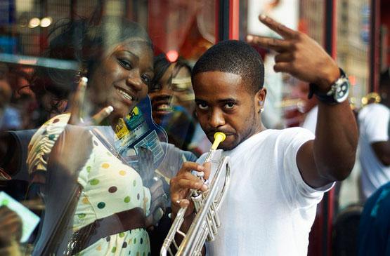 Times Square Musicians photo by Mo Riza