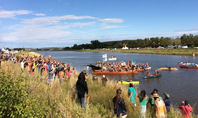 canoe Standing Rock