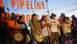 Locals and Tribes March Together to Oppose Construction of Natural Gas Plant
