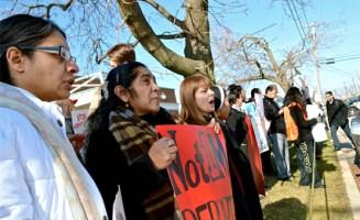 Antideportation event. Photo by NPA.