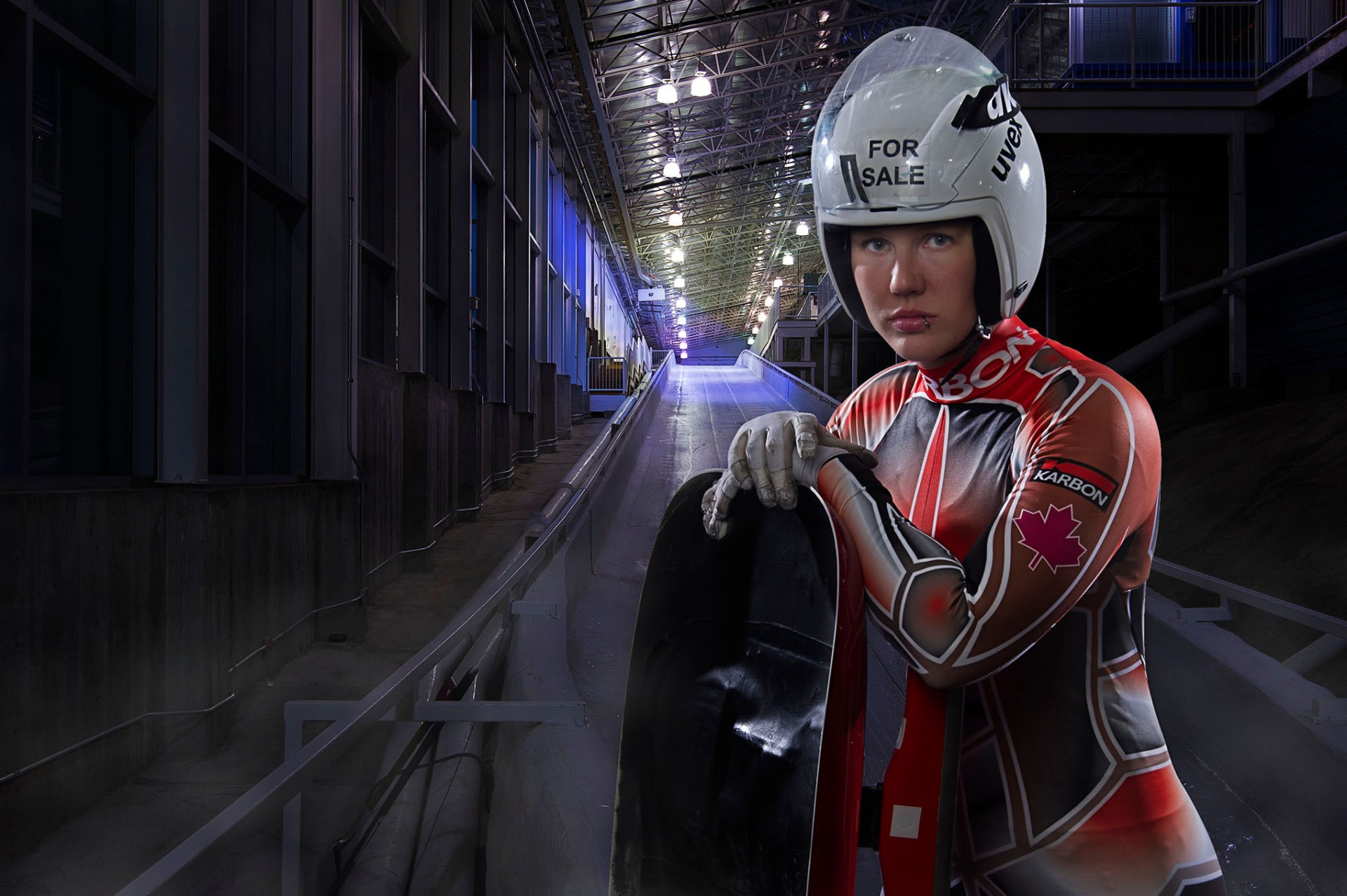Portrait Case Study of Canadian Olympic Luge Athlete, Alex Gough