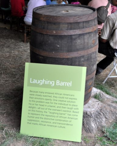 """""""Laughing barrels"""" and the defiant spirit of Black laughter"""