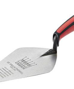 Ragni London pattern brick trowel Soft Grip handle