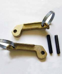Replacement camlock coupling handle with ring ears and pins (Pair)
