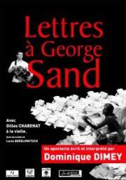 Affiche Lettre à Georges Sand
