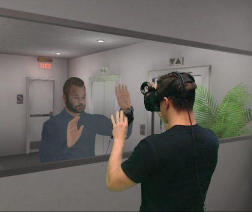 Rick in Mirror using Virtual Reality Diversity Inclusion Training Equity Equality Empathy Immersive Learning