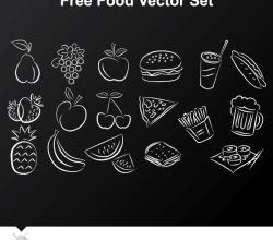 Free Food Vector Set