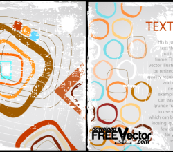 Colorful Frame Vector Background Free