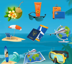 Summer Vacation Graphics