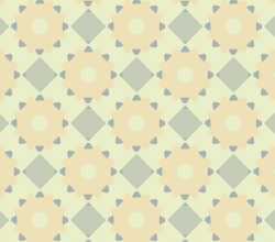 Diamonds and Gears Seamless Pattern Vector