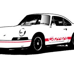 Vector Porsche Carrera Image