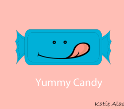 Yummy Candy Vector Illustration