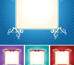 Stylish Invitation Card Free Vector Background