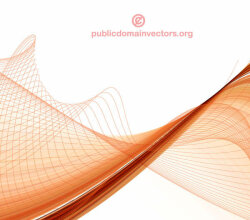Abstract Wave Line Background Graphics