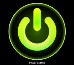 Free Computer Power Button Vector