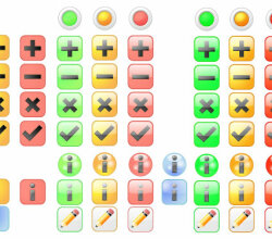 Vector Basic Icons Set