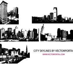 Vector City Skyline Image