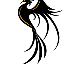 Phoenix Bird Vector Image
