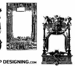Antique Frames And Borders