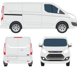 Vector Transit Custom Tourneo