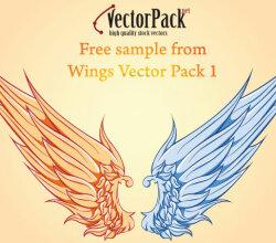 Free Wings Vector