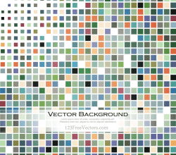 Colorful Tiles Backgrounds Vector