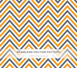 Vector Art Colorful Chevron Pattern