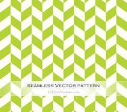 Green Chevron Seamless Pattern Vector