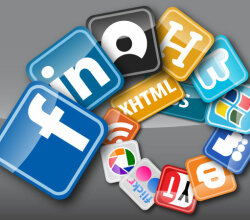 Vector Web Buttons Social Media